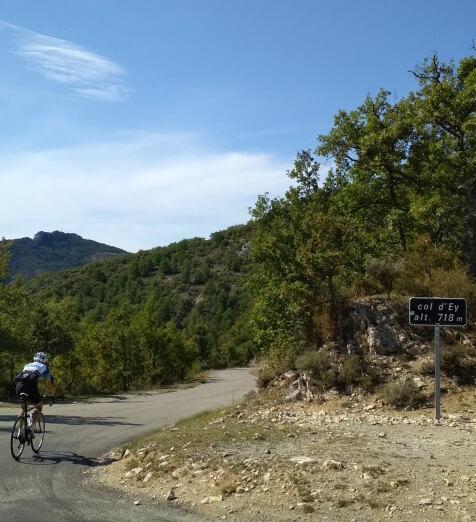 De Col d'Ey fietsen