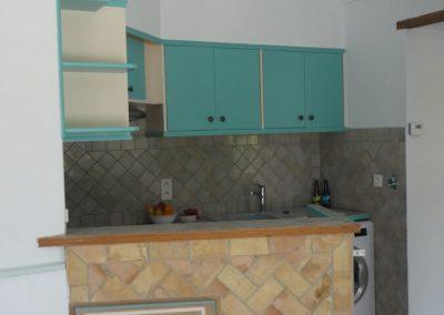 The open kitchen