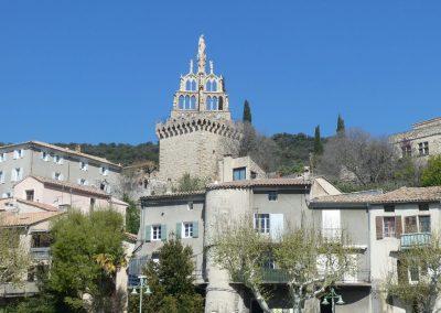 De Randonne toren in Nyons