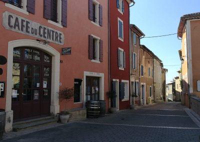Café du centre in Villedieu