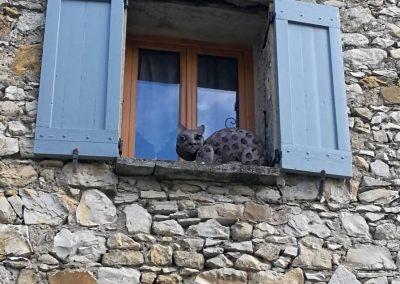 Chat artificiel dans une fenêtre