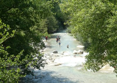 Tremper les pieds dans les Gorges de Toulourenc